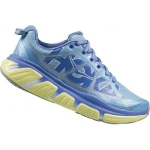 Hoka Infinite Blue/Lime Womens