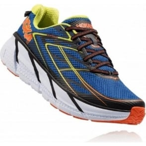 Hoka Clifton 3 Blue/Red Orange Mens