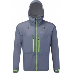 Ronhill Trail Tempest Jacket Granite/Green Mens