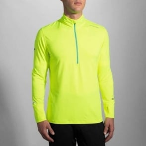 Brooks Dash 1/2 Zip Nightlife/Ultra Blue Mens