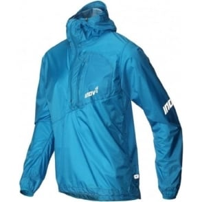 Inov8 AT/C Stormshell Half Zip Mens Running Jacket Blue