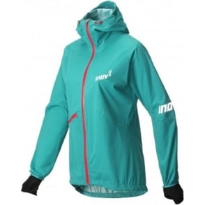 Inov8 AT/C Raceshell Full Zip Teal/Pink Womens