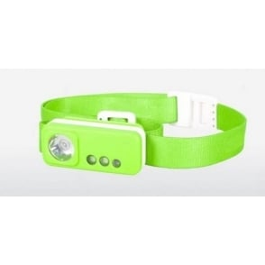 Silverpoint Spark Headtorch Green