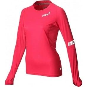 Inov8 AT/C Base Long Sleeve Pink Womens
