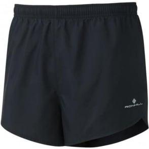 Ronhill Men's Everyday Split Short All Black