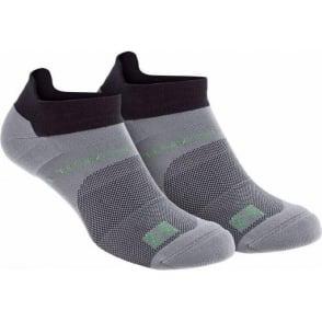 Inov8 All Terrain Sock Low Twin Pack Black