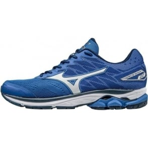 Mizuno Wave Rider 20 Road Running Shoes Blue Mens