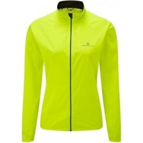 Ronhill Everyday Jacket Fluorescent Yellow Womens