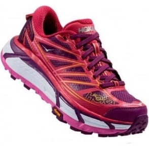 Hoka Mafate Speed 2 Trail Running Shoes Pink Womens