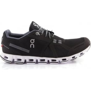 ON Cloud Mens Road Running Shoes Black & White