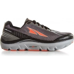 Altra Paradigm 2.0 Grey/Orange Mens Zero Drop Road Running Shoes