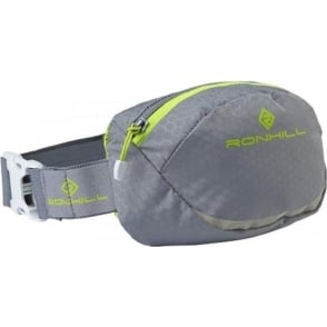 Ronhill Motion Running Waist Pack Grey/Lime Green