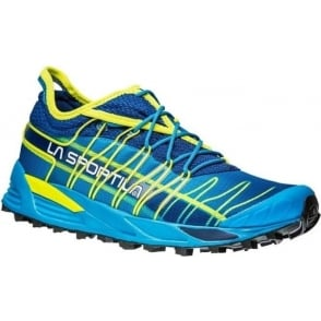 La Sportiva Mutant Off Road Running Shoes Black Blue/Sulphur