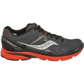 Saucony Mirage 4 Minimalist Road Running Shoes Black/Red Mens