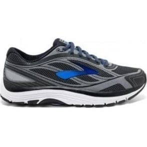 Dyad 9 Mens 4E (EXTRA WIDE WIDTH) Road Running Shoes Asphalt/Electric Brooks Blue/Black