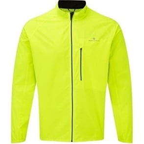 Ronhill Men's Everyday Running Jacket Fluo Yellow
