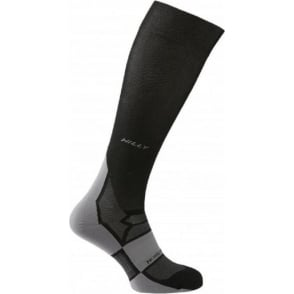 Hilly Pulse Compression Sock Black/Grey