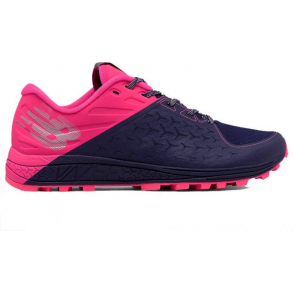 New Balance Vazee Summit V2 Womens B STANDARD WIDTH Trail Running Shoes Pink/Dark Blue