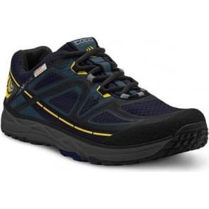 Topo Hydroventure Mens Low Drop & Wide Toe Box Trail Running Shoes Navy/Black