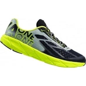 Hoka Tracer Mens Road Running & Racing Shoes Black/Citrus