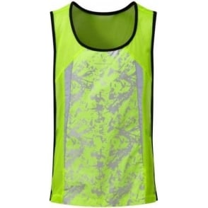 Ronhill Junior Running Bib Fluo Yellow
