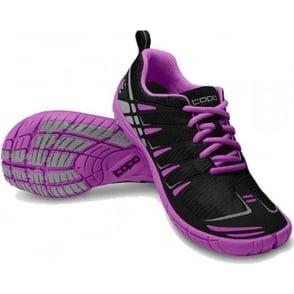 Topo ST Womens Road Running Shoes Black/Grape