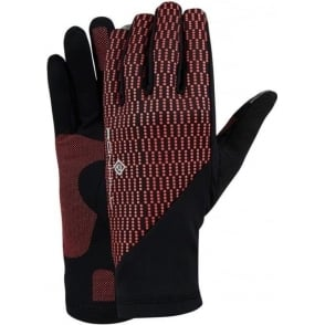 Ronhill Wind-block Glove Black/Hot Pink