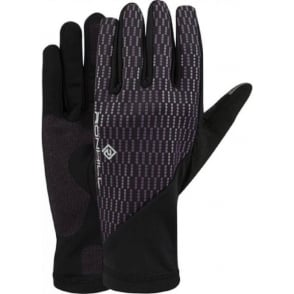 Ronhill Wind-block Glove Black/Grape Juice