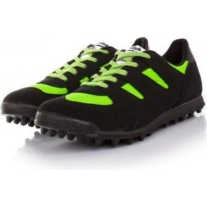 Walsh PB Elite Junior Kids Fell and Cross Country Running Shoes Black/Lime