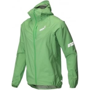 Inov8 AT/C Stormshell Full Zip Mens Running Jacket Green