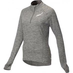 Inov8 AT/C Long Sleeve Womens Running Mid Layer Light Grey