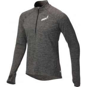 Inov8 AT/C Long Sleeve Mens Running Mid Layer Dark Grey