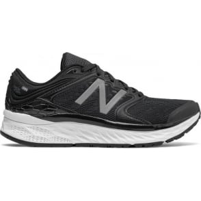 New Balance 1080 v8 Fresh Foam Womens B Width (STANDARD) Road Running Shoes Black/White