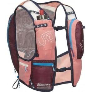 Ultimate Direction Adventure Vesta v4 Womens Hydration Running Vest/Backpack Coral