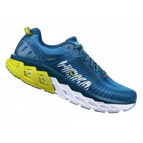 Hoka Arahi 2 Road Running Shoes Mens Niagara/Midnight
