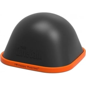 TigerTail Curveball Stationary Foam Roller Black/Orange