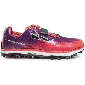 Altra King MT 1.5 Womens Zero Drop Off-Road Running Shoes Orange/Purple