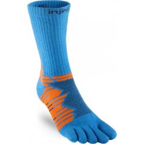 Injinji Socks Performance Ultra Run Crew Running Socks Blue