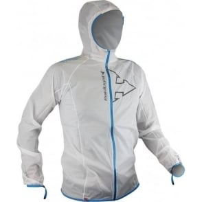 Raidlight Hyperlight MP+ Mens Waterproof Breathable Jacket White/Electric Blue