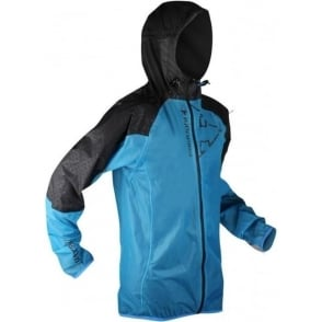 Raidlight Ultra MP+ Mens Waterproof Running Jacket with Hood Blue/Black