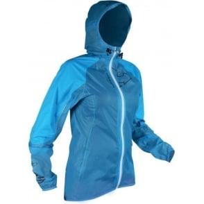 Raidlight Ultra MP+ Womens Waterproof Running Jacket with Hood Blue/Black