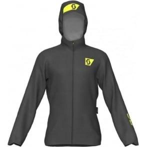 Scott RC Run Mens Waterproof Breathable Running Jacket Black/Yellow
