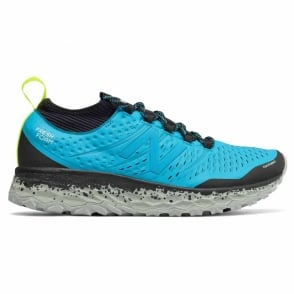 New Balance Hierro v3 Fresh Foam Mens D STANDARD FIT Cushioned Trail Running Shoes Light Blue