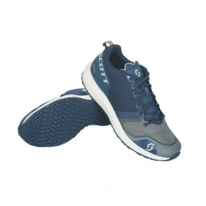 Scott Palani Mens Cushioned Road Running Shoes Navy Blue/Grey