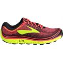 Brooks PureGrit 6 Womens B (STANDARD WIDTH) Trail Running Shoes Diva Pink/Nightlife/Black