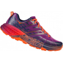 Hoka Speedgoat 2 Womens Road Running Shoes Plum/Peacoat