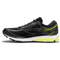 Brooks Ghost 10 GTX Mens D STANDARD WIDTH Road Running Shoes Black/Ebony/Lime Popsicle