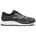 Brooks Addiction 13 Mens 4E EXTRA WIDE Road Running Shoes Black/Ebony/Metallic Gold
