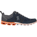 ON Cloudflow Mens Road Running Shoes Rock & Orange