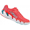 Hoka Vanquish 3 Womens Road Running Shoes Dubarry/Grenadine
